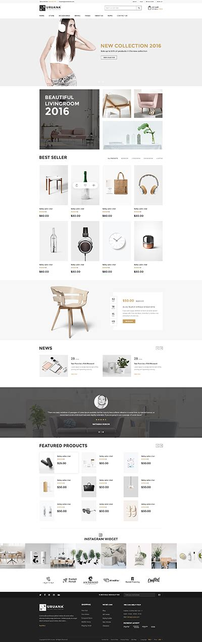 Shopify Retail Themes | 5 best shopify premium themes collection for retail store