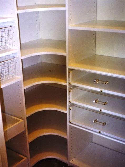 kitchen shelf design corner pantry shelves houzz