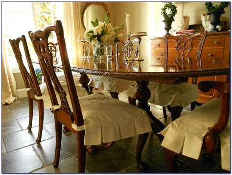 dining room chair seat covers with ties dining room