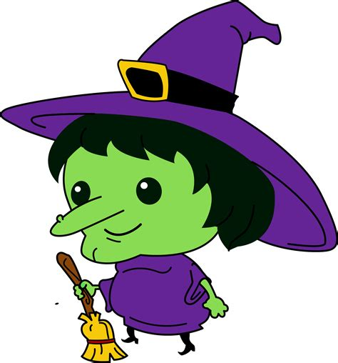 cartoon witch clipart clipartxtras