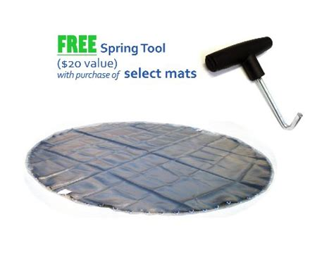 14 Foot Troline Mat Replacement by Canadian Tire Flyer