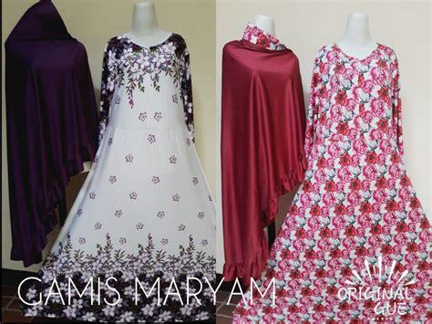 Pusat Grosir Baju Muslim Maryam Syari Jaguard 3 pusat grosir maryam dewasa syari murah bandung 82ribu