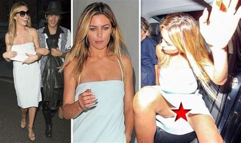pixie davies advert abbey clancy looks a little worse for wear as she flashes
