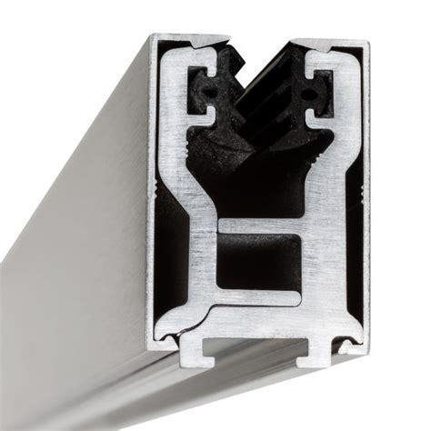 glas schiebe schienen profil glastrennwand 12 mm etg