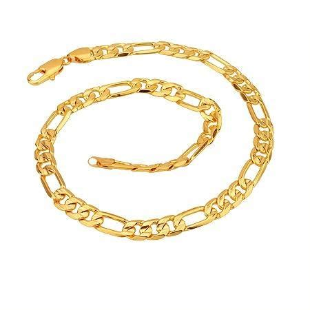 jewelry at home imitation jewelry brass gold plated necklace zm0365 c3