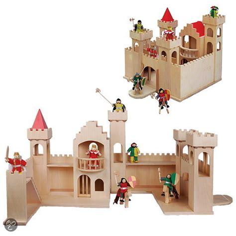 speelgoed kasteel bol houten kasteel openklapbaar