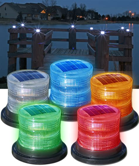 rechargeable boat navigation lights flashing or constant solar marine lights