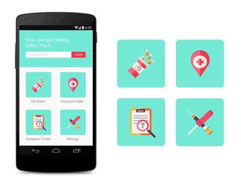 Android Health App by App Icons On Behance