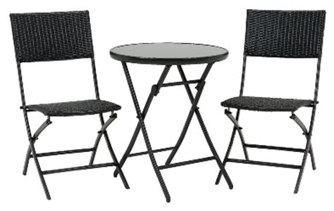 Hanging Outdoor Chairs Rattan Folding Chair Glass Table Set