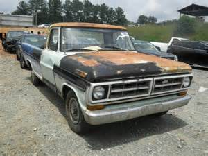 1971 Ford F100 Parts F10gcl94182 Bidding Ended On 1971 Two Tone Ford F100