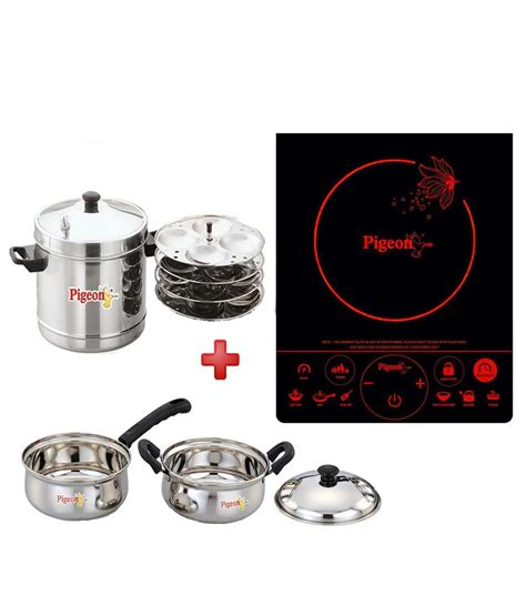 induction cooker pigeon pigeon induction cookers price in india buy pigeon induction cookers on snapdeal