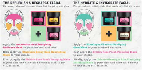 Multi Masking The Shop give your skin the superfood treat with the shop s new masks