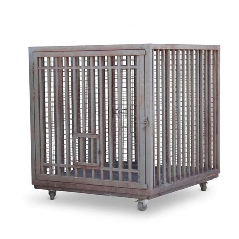 cage of cages prop hire 187 large animal cage with end door keeley