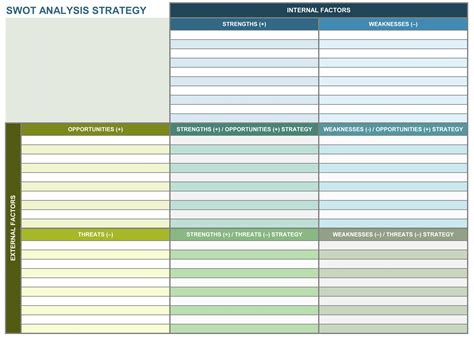 strategic plan template beepmunk