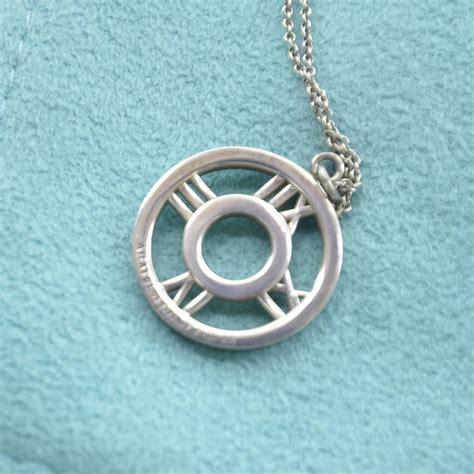 co sterling silver atlas pendant necklace 33026