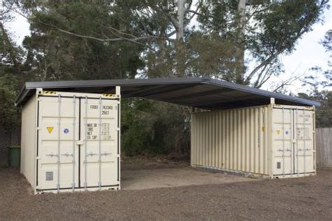 cheap garage plans details about shipping container roof cover shelter kit