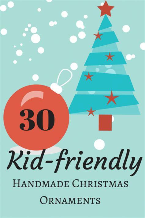 Weihnachtsschmuck Mit Kindern Basteln 3052 by 30 Kid Friendly Handmade Ornaments Weihnachten