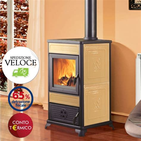 tubi per camini a legna termostufa a legna italiana camini aqua 12 5kw vaso aperto