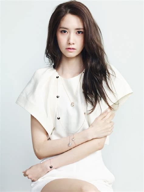 YoonA Shows Some Skin as She Models for Cartier   Soompi