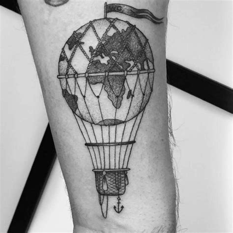 small hot air balloon tattoo 25 best ideas about balloon on air