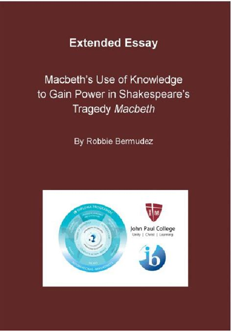 macbeth themes of power macbeth s use of knowledge to gain power in shakespeare s
