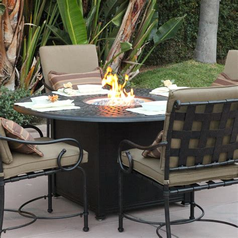 patio table with pit patio dining table with pit pit design ideas