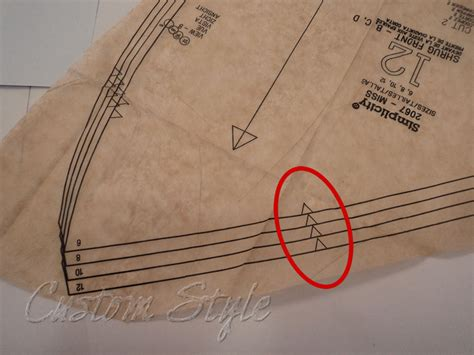 notches on pattern pieces sewing tip the easy way to cut notches custom style