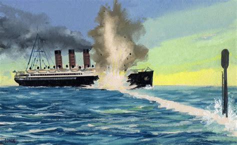 ww1 sinking of the lusitania sinking lusitania ww1 war titanic