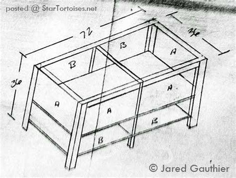 Tortoise House Plans Other Keepers Setups Tortoise Tables