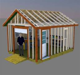 gable storage shed plans  roll  shed door sheds workshopswith apartments