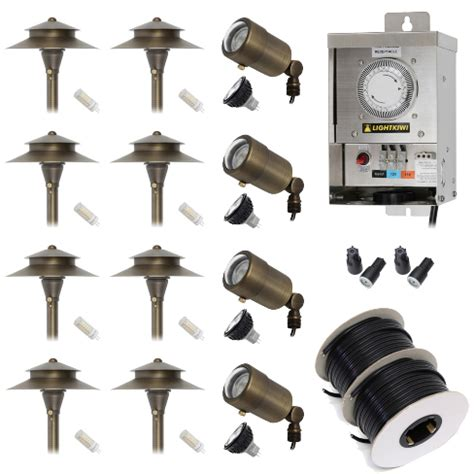 low voltage outdoor lighting kits landscape lighting kits lighting ideas