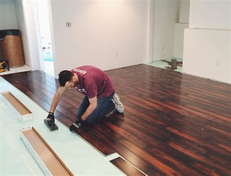 laying laminate flooring in the basement ? SNAPPY CASUAL
