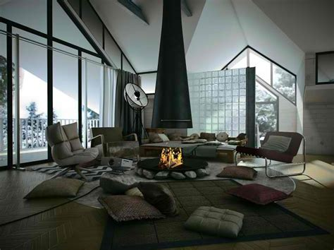 Central Fireplace Design by 26 Small Inspiring Living Room Designs Decoholic