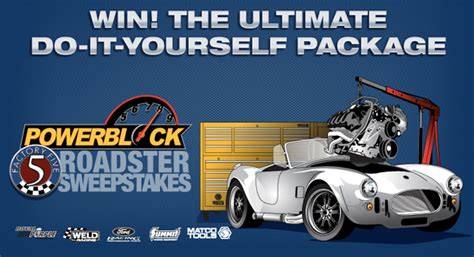 Powerblock Tv Factory Five Giveaway - win a factory five mk4 cobra replica lots of assembly required 187 autoguide com news