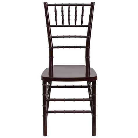 Banquet Style Chairs by Mahogany Style Chiavari Chair In Resin Material Banquet King