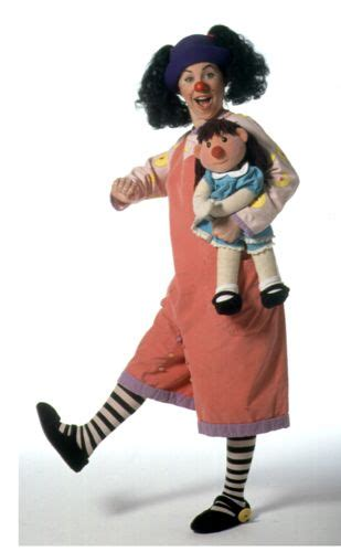 Molly And Big Comfy by Loonette And Molly The Doll From The Big Comfy