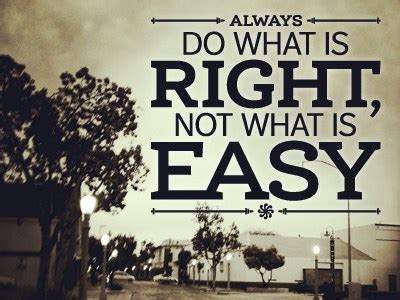 Doing Options The Right Way 2 by Do What Is Right Not What Is Easy Ontario Wind Resistance