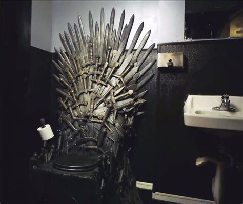 game of thrones toilet iron throne toilet lets you rule the bathroom cnet