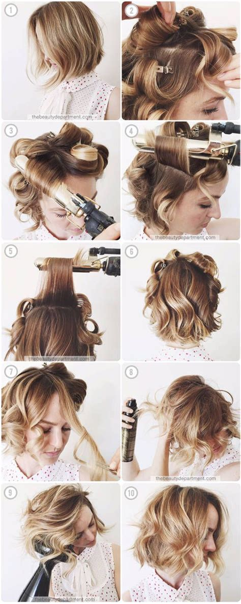 different types of jerrycurls hairstyles m 225 s de 25 ideas incre 237 bles sobre tutorial bob ondulado en