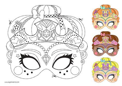 Masque 224 Colorier Eug 233 Nie Varone