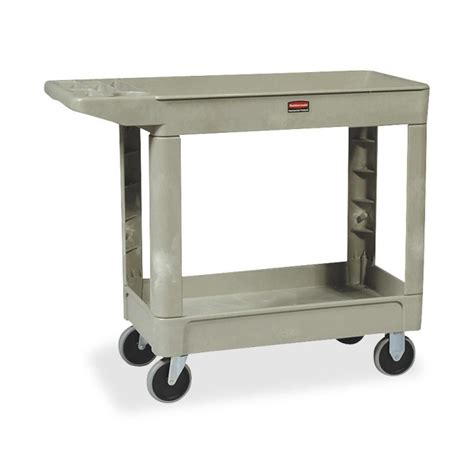 Office Cart by Rubbermaid Two Shelf Service Cart 39 5 Quot X 18 Quot X 33