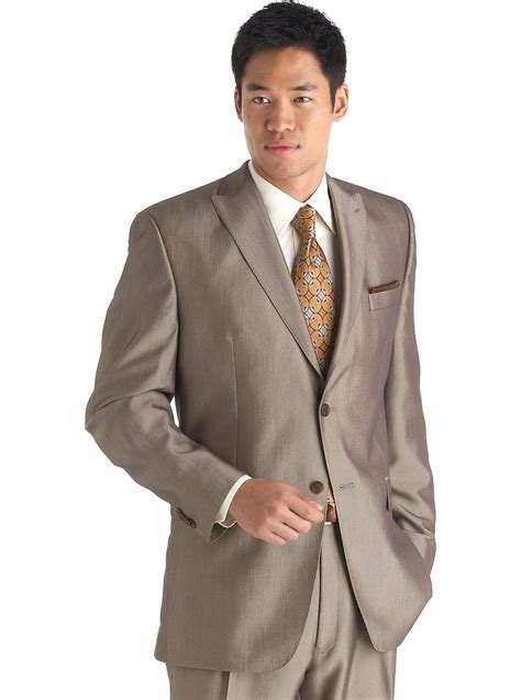 mens wear house sean john taupe suit men s wearhouse wedding on budget pinterest