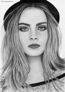 delevingne drawing art drawing images