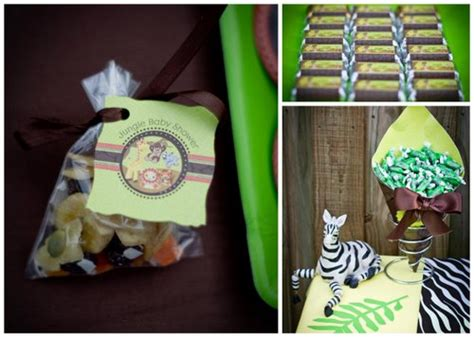 Jungle Theme Baby Shower Favors by Jungle Theme Baby Shower Baby Shower Ideas Themes
