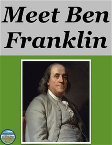 benjamin franklin quick biography united states history on pinterest industrial revolution