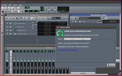 tutorial linux multimedia studio create music using linux multimedia studio lmms how to