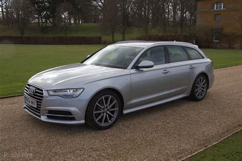 audi a6 avant 2015 drive home from stately home