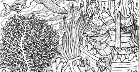 advanced ocean coloring pages ocean coloring pages colouring adult detailed advanced