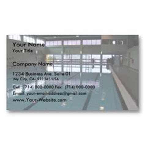 pool business card templates 1000 images about swimming pool business cards on