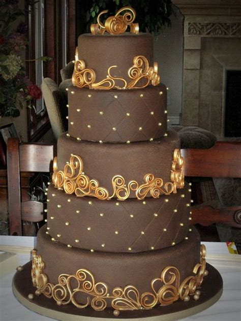 Big Wedding Cakes Pictures by 13 Delicious Chocolate Wedding Cakes Wedding Cake Ideas